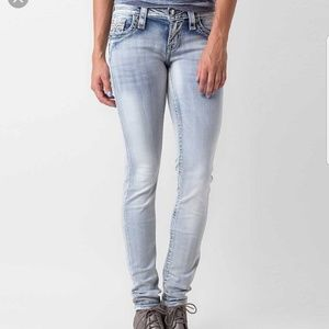 ROCK REVIVAL BUCKLE MAREE SKINNY STRETCH JEANS NEW